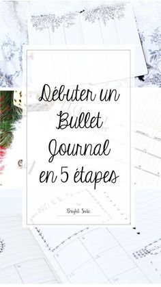 Démarrer un Bullet journal en quelques étapes ! Bujo, Filofax, Diy Agenda, Organization Bullet Journal, Bullet Journal Printables, Bullet Journals, Doodles, Bullet Journal Inspiration, Journal Ideas