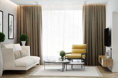 Yellowish Living room on Behance
