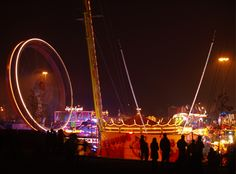 Goose Fair in Nottingham, UK. I went twice when I was very young, I'd love to go back as an adult