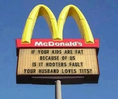 Touche McDonalds...Well played my friend!