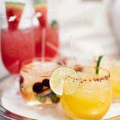 refreshing drinks, montage laguna, refreshing cocktail, watermelon margarita, white sangria, margarita, summertime, signature cocktail, wedding cocktail #aboutdetailsdetails