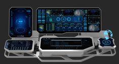 Hologram remote control panel 3D model - TurboSquid 1419693 New Technology Gadgets, Spy Gadgets, High Tech Gadgets, Engineering Technology, Futuristic Technology, Futuristic Design, Computer Technology, Future Gadgets, Future Tech