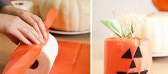 Manualidades Halloween, Pineapple, Diy, Fruit, Creative Crafts, Creativity, Pinecone, Bricolage, Diys