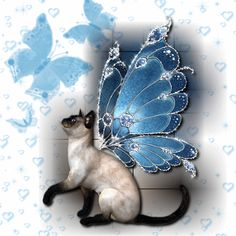 Crazy Cat Lady, Crazy Cats, Siamese Cats, Cats And Kittens, Tattoo Aquarelle, Frida Art, Image Chat, Graphics Fairy, Glitter Graphics