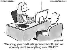 Person With a Poor Credit Score.