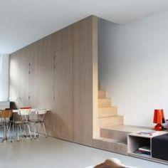 verbouwing-renovatie-woonboerderij--badkamer-met-houten-spanten-en, Deco ideeën