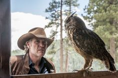 """Netflix is riding to the rescue of yet another canceled TV show. On Wednesday, it announced it had picked up the western detective series """"Longmire"""" for a fourth season. Longmire Series, Walt Longmire, Longmire Cast, Best Series, Tv Series, Robert Taylor Longmire, Craig Johnson, Katee Sackhoff"""