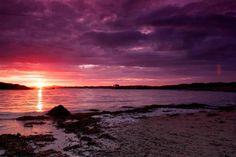 Beach Sunset - Rhosneigr June 2012