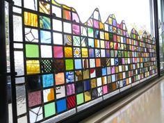 OCTOBRE 2015. Un vitrail d'intimité, ACTUALITÉ créations et restaurations ,, Vitrail et Vitraux