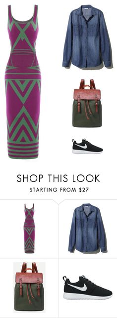 """""""Downtown - Kingston, Jamaica"""" by sdforthxi ❤ liked on Polyvore featuring L.L.Bean and NIKE"""