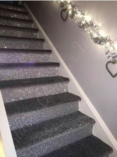 Glitter and carpet