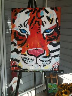 my auburn tiger i painted