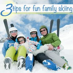 3 Tips for Fun Family Skiing by Brave Ski Mom
