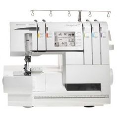 Husqvarna Viking Huskylock From GUR Sewing Superstore - Best Prices on Husqvarna Viking Huskylock Guaranteed including Free UK Delivery. Found Husqvarna Viking Huskylock Cheaper? Sewing Machine Reviews, Vikings, Husqvarna Viking, Skinny Quilts, Overlock Machine, Extension Table, Jellyroll Quilts, Vintage Sewing Machines, Shopping
