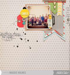 Smile by maggie holmes at Studio Calico November Kits