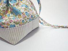 巾着袋の作り方 裏地付き・マチ付き | NUNOTOIRO