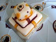 redskins wedding cake - Google Search