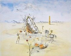 SAVALDOR DALI (1904-1989) Salvador Dali's work is associated with the surrealist movement of the 20th Century. A diverse and multi-talented artist, Dali is considered one of the most collected artists