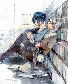 Fan Anime, Anime Art, Otaku, Aesthetic Japan, No 6, Fan Art, Pokemon, Shounen Ai, Light Novel