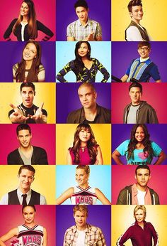 Glee characters Season 4