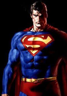 Superman by Mauro Cascioli Batman Vs Superman, Arte Do Superman, Mundo Superman, Superman Cosplay, Superman Family, Superman Man Of Steel, Superman Poster, Supergirl Superman, Arte Dc Comics