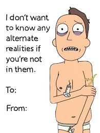 Image result for rick and morty quotes nobody exists on purpose