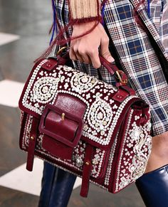 Tory Burch The Best Bags of New York Fashion Week   InStyle.com