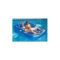 Swimline Kickback Adjustable Lounger, Double
