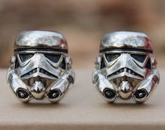 Love these Stormtrooper cuff links