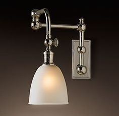 Lighting | Restoration Hardware Pimlico Swing-Arm Sconce