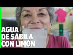 Agua de sábila con limón estilo 💜 Rosy 💜 - YouTube Cocktails, Drinks, Aloe Vera, Wine Glass, Youtube, Beer, Mugs, Water With Lemon, Drink Recipes