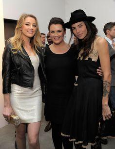 Amber Heard, Jennifer Howell, Tasya Van Ree