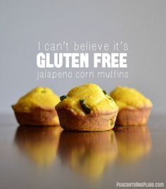 yum....(I can't believe it's gluten free cornbread jalapeno muffins recipe) pinned with Pinvolve - pinvolve.co