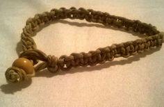 Organic hemp bracelet