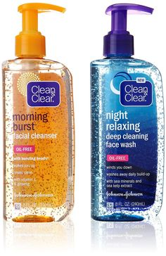 Amazon.com : Clean & Clear Morning Burst, Day/Night Pack, 16 Ounce : Beauty