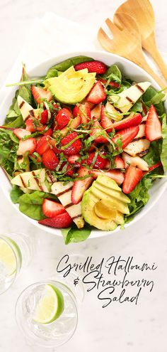 Halloumi is one of my favorite foods!! It adds something so special to this salad and I guarantee you will love it.