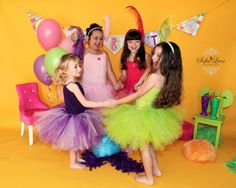 Ultimate Princess Tutu Birthday Party Pack for by PinkPosieCouture, $200.00
