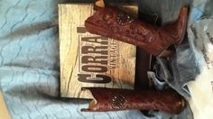 Corral boots!   Just LOVE my new boots!