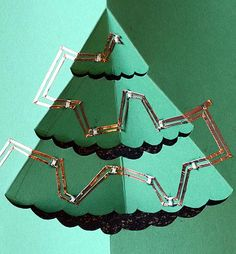 Paper tree circuitry - a fun science project for kids. The post has detailed instructions