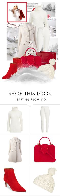 """Winter Wonderland"" by sophia561 ❤ liked on Polyvore featuring Polo Ralph Lauren, Joseph, RED Valentino, Mehry Mu and Topshop"