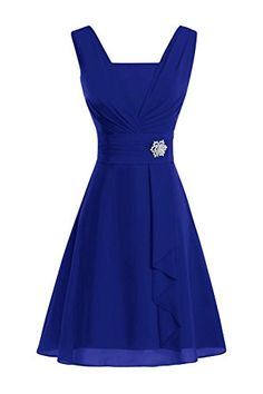 ModernBride Women Elegant Summer Chiffon Mothers Dresses 2015 Size 10 US Royal Blue *** You can find more details by visiting the image link.