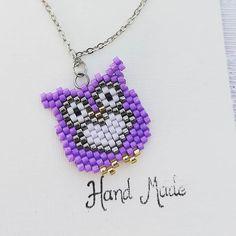 #miyukibeads#miyuki#kolye#necklace#jewelry#aksesuar#accessories#hanmade#elyapimi#takitasarim#baykus#owl#mor#purple#instalike#instamoda#instajewelry#instafashion#moda#trend#fashion#stil#art#desen#design#istanbul#woman#art