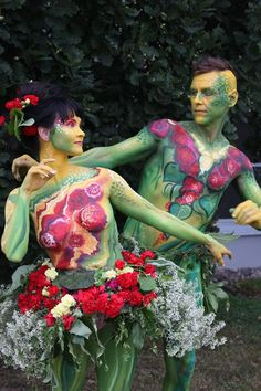 LEPAA 2014 Exhibition - Hattula Bodypainting from fresh worldchampion Riina Rinne, Finlande - September 2014