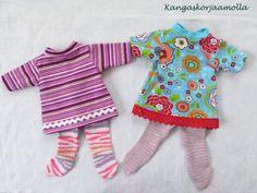 Tulosta kaavat nukenvaatteisiin Baby Born, Onesies, Dolls, Sewing, Kids, Crafts, Clothes, Fashion, Baby Dolls