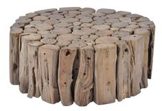 Coffee Table - Wood  I reckon we jump the funce and could make one from nexts doors stuff