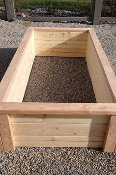 Pallet Garden Box, Garden Box Plans, Raised Garden Bed Plans, Building Raised Garden Beds, Raised Beds, Raised Bed Garden Design, Raised Planter Boxes, Garden Planter Boxes, Large Garden Planters