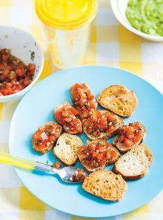 Ricardo's recipe : Basic Bruschetta