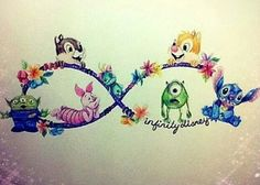 This would be the coolest tattoo ever, although I might put a few different characters