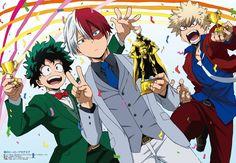My Hero Academia - Midoriya, Todoroki & Bakugou