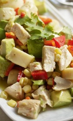Chicken, Hearts of Palm, and Avocado Chop Chop Salad